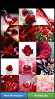 Screenshot of Pretty Red Color HD Wallpapers