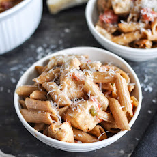 30 Minute Baked Chicken Penne