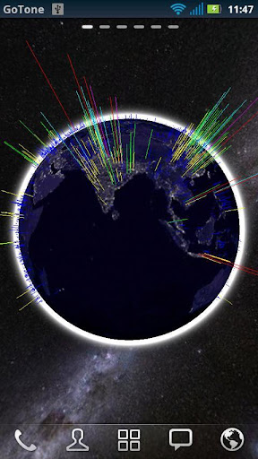 3D Globe Visualization Pro