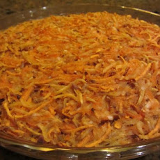 potato carrot kugel
