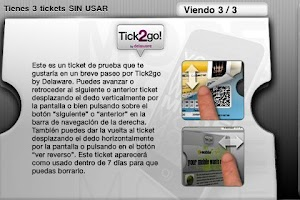 Screenshot of Tick2go by Delaware