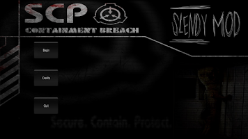 Screenshot of Slendy: SCP MOD