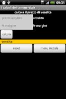 Screenshot of commerciale