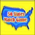 50 States Match Game icon