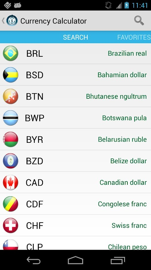 Currency Calculator Pro Screenshot 2