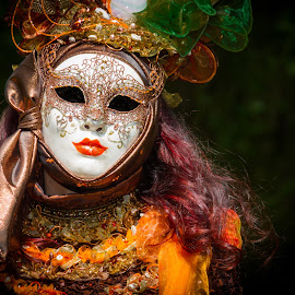 Madame by Arti Fakts - News & Events World Events ( venezia, carnival, hairs, venice, lady, mask, costume, artifakts, madame, long,  )