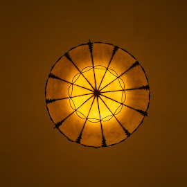 by Chirag Gupta - Digital Art Abstract ( illuminated, circular, chandelier, decoration, royal, art, lamp, perfect, light )
