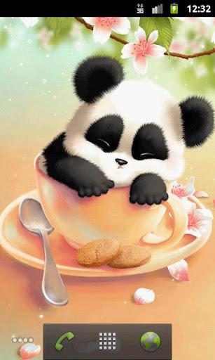 瞌睡熊貓壁紙