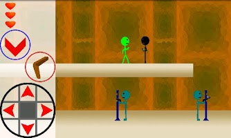 Screenshot of Boomerang Stickman Fighter