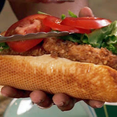 Pecan Crusted Catfish Finger Sandwich