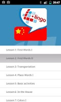 Screenshot of Learn Chinese Mandarin Pro