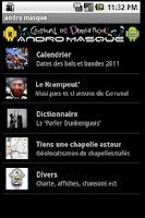 Screenshot of AndroMasque