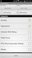 Screenshot of T2 Mood Tracker