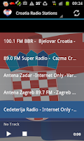 Screenshot of Croatia Radio Music & News