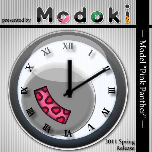 个人化のModokiClock ModelPinkPanther LOGO-記事Game