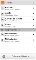 Screenshot of Mélovibe