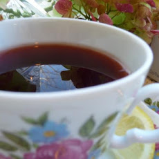 Rosehip Tea With Cranapple Lemon & Honey (Hagebutten Tee)