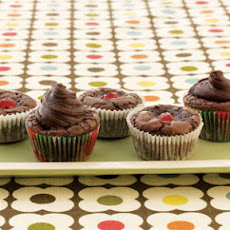 Chocolate-Covered Cherry Cups