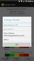 Screenshot of EnergyViewer for TED5000®