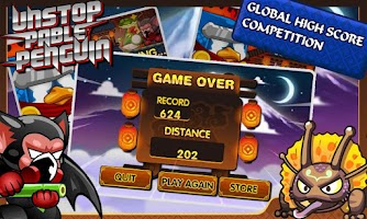 Screenshot of Unstoppable Penguin