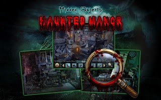 Screenshot of Haunted Manor - Hidden Objects