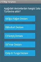 Screenshot of LYS Bilgi Yarışması