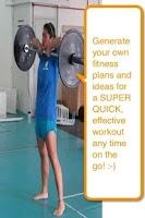 Screenshot of Pocket Fitness and Gym Work!