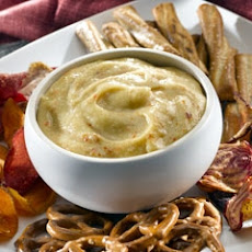 Italian Honey Mustard Pretzel Dip