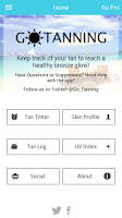 Screenshot of Go Tanning Tan Timer UV Index