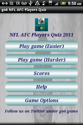go6 NFL AFC Player Links Quiz