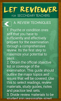 Screenshot of UPang LET Reviewer