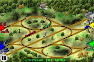 Screenshot of Railway Game in India