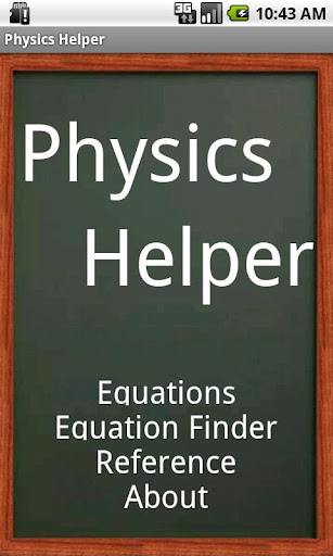 Physics Helper