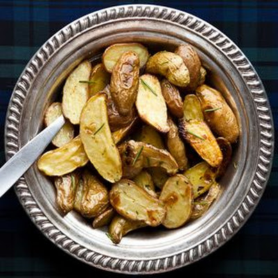 Roasted Fingerling Potatoes with Brown Butter and Rosemary
