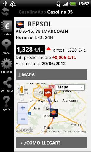 免費下載交通運輸APP|Gasolina App Precios en España app開箱文|APP開箱王