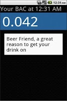 Screenshot of Beer Friend