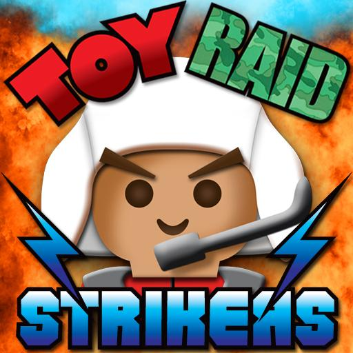 玩具空袭前锋 Toy Raid Strikers LOGO-APP點子