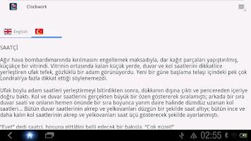 Screenshot of İngilizce Türkçe Hikayeler