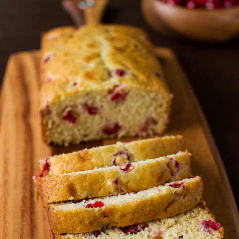 Fresh Cranberry Tea Cake