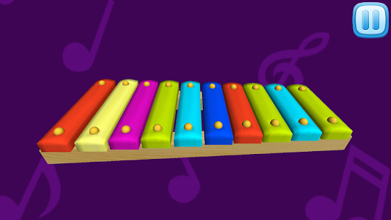 Xylophone For Kids 3D - screenshot