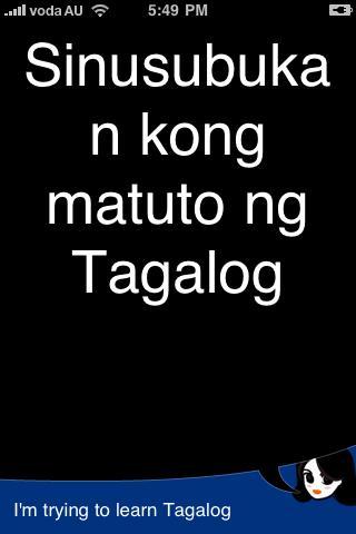 Lingopal Tagalog Filipino