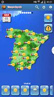 Screenshot of Spain Weather