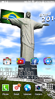 Screenshot of Brazil 2014 livewallpaper 3dhd
