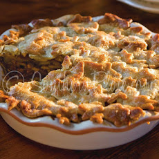 Easy Apple-Caramel Pie