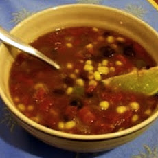 Mexican Corn and Bean Soup