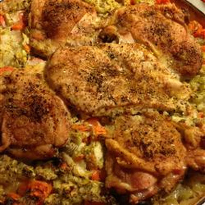 Chicken Peanut Perloo Recipe — Dishmaps