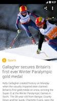 Screenshot of Yahoo News Digest