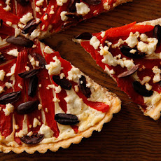 Roasted Red Pepper Tart Recipe