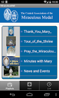 Screenshot of Miraculous Medal