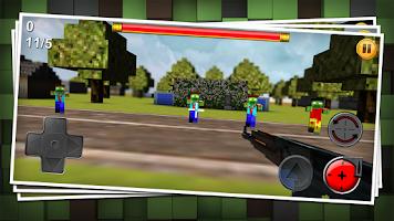 Screenshot of Crafted Gun 3D